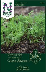 Dill av Sara bäckmo, ett året runt frö för en oändlig odlingssäsong Nelson Garde