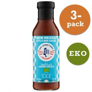 Bbq Sauce Ekologisk New Mexico Style 3x411g