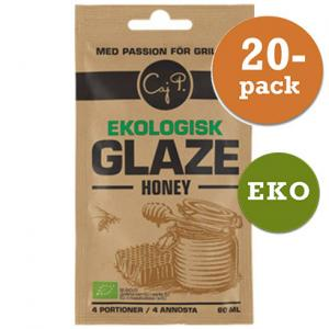 Glazer Ekologisk Honey Caj P 20x60ml