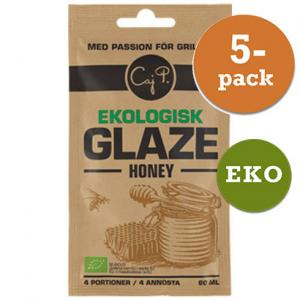 Glazer Honey Ekologisk Caj P 5x60ml