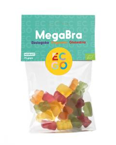 Megabra 1x75g EKO EC-GO KORT HÅLLBARHET