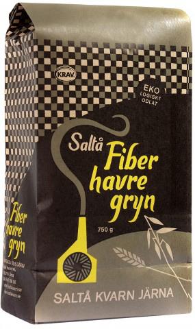 Ekologiska fiberhavregryn 650g från Saltå kvarn