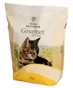 Kattfoder kyckling Gourmet 5kg Mästers