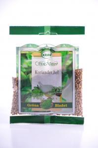 Koriander Hel KRAV 12x20g Gröna Bladet