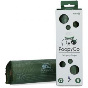 Hundbajspåse Eco biologiskt nedbrytbar m lavendeldoft 1x300 PoopyGo