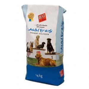 Hundfoder Lamm & Ris 14kg Best in Show