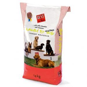 Hundfoder Lamm & Ris Extra 14kg Best in Show