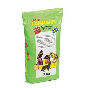 Hundfoder Lamm & Ris Light 7kg Best in Show
