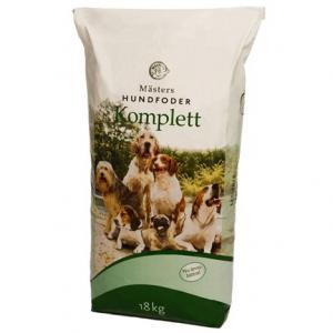 Hundfoder Komplett 18kg Mästers