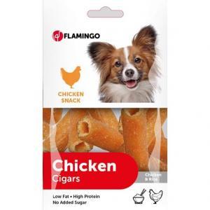 Hundgodis Chick´n Snack 10x85g kyckling/ris Flamingo