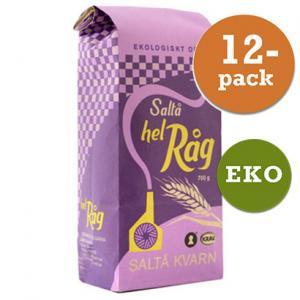 Råg, Hel 12x700g Saltå Kvarn