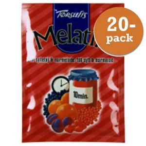 Melatin Röd Törsleffs 20x25g