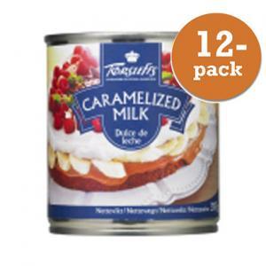 Karamelliserad mjölk 12x397g Törsleffs