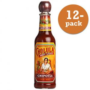 Hot Sauce Chipotle Cholula 12x150ml