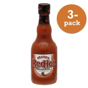 Red Hot Original Frank´S 3x354ml