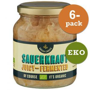 Sauerkraut EKO 6x360g Green Choice