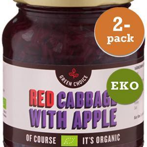 Rödkål Med Äpple EKO 2x360g Green Choice