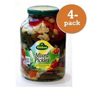 Mixed Pickles Kühne 4x2,45kg