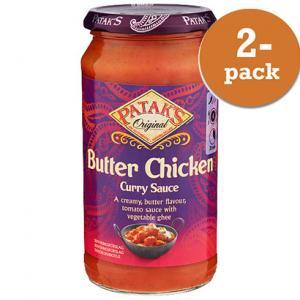 Mild Butter Chicken Sås 2x350g Patak´s