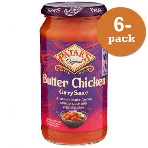 Mild Butter Chicken Sås 6x350g Patak´s