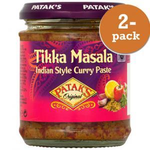 Tikka Masala Currypasta 2x165g Patak´s