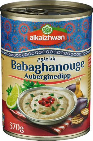 Baba Ganoush Auberginedipp 1x370g Alkaizhwan KORT HÅLLBARHET