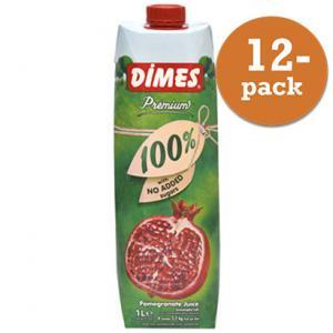 Granatäppeljuice Premium 12x1liter Dimes