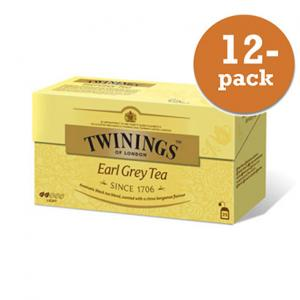 Te Earl Grey Twinings 12x50g