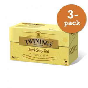 Te Earl Grey Twinings 3x50g