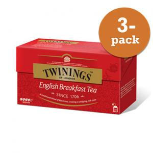 Te English Breakfast Twinings 3x50g