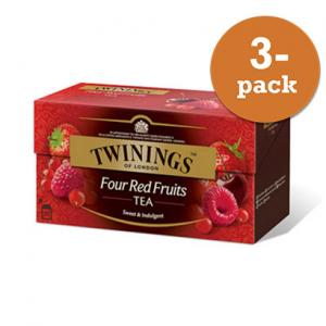 Te Fyra Frukter Twinings 3x50g