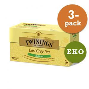 Te Earl Grey Krav Twinings 3x50g