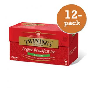 Te English Breakfast Krav Twinings 12x50g