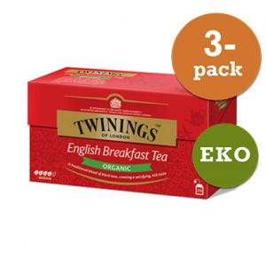 Te English Breakfast Krav Twinings 3x50g