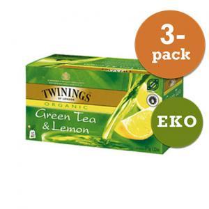 Grönt Te Med Citron Krav Twinings 3x50g