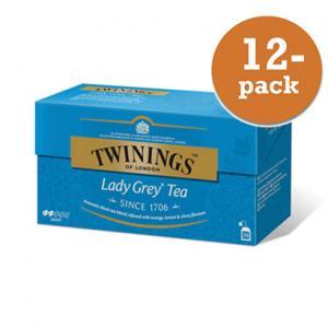 Te Lady Grey Twinings 12x50g