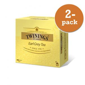 Te Earl Grey Twinings 2x100g