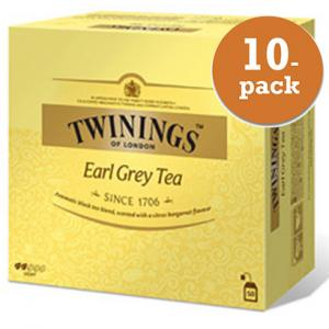 Te Earl Grey Twinings 10x100g