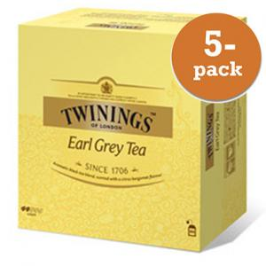 Te Earl Grey Twinings 5x200g