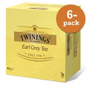 Te Earl Grey Twinings 6x200g