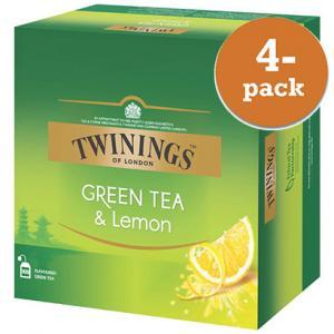 Grönt Te & Citron 4x100påsar Twinings