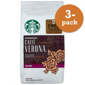 Starbucks Verona Malet 3x200g