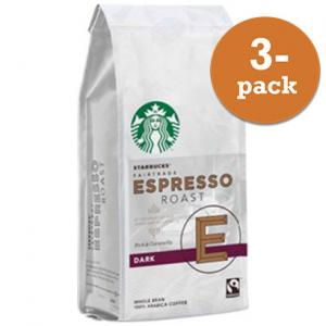 Starbucks Espresso Roast Fair Trade 3x200g