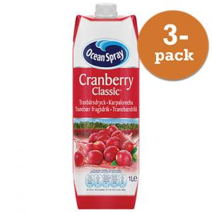 Cranberry Classic 3x1liter Ocean Spray