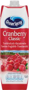 Cranberry Classic 1x1liter Ocean Spray KORT HÅLLBARHET