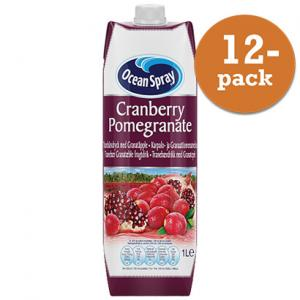 Cranberry Pomegranate 12x1liter Ocean Spray