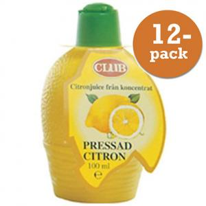 Citron Pressad Club 12x100ml