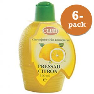 Citron Pressad Club 6x100ml