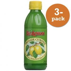 Citron Pressad 3x250ml Realemon