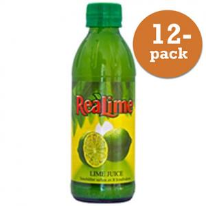 Lime Pressad Realemon 12x250ml